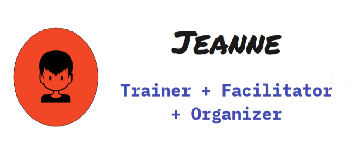 Jeanne: experiential trainer, facilitator, and social and environmental justice organizer